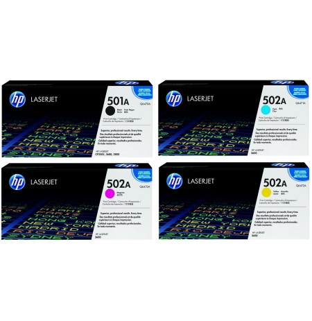 ست کارتریج Hp 501A Laserjet Cartridge