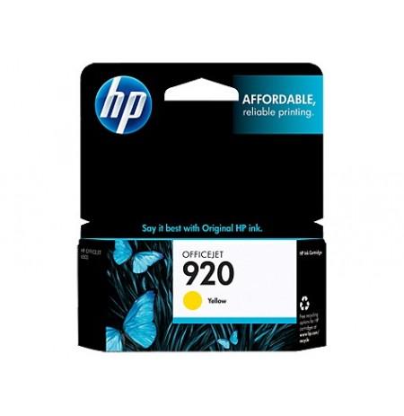 کاتریج و مواد مصرفی کاتریج HP 920 زرد