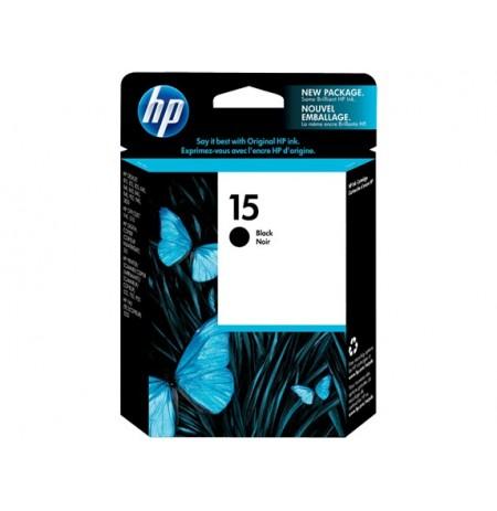 کاتریج پرینتر HP 15 Black