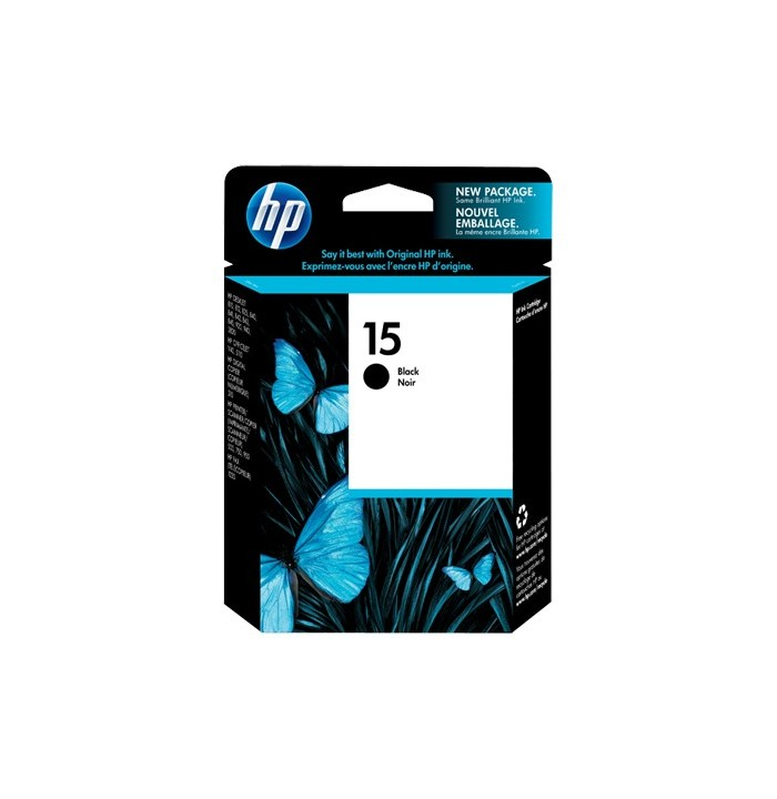 کاتریج و مواد مصرفی کاتریج پرینتر HP 15 Black