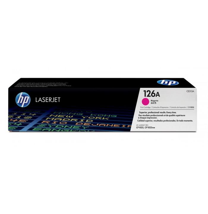 کاتریج و مواد مصرفی تونر HP 126A Magenta