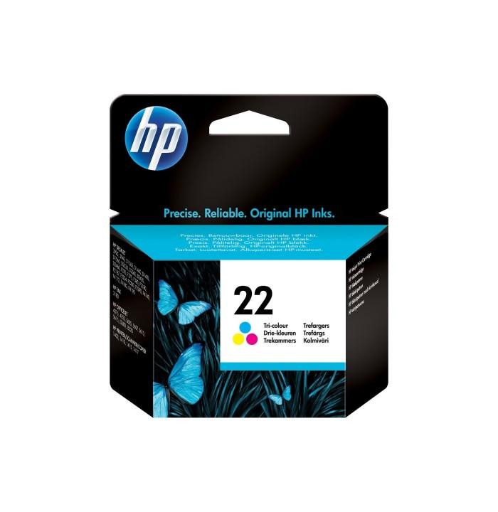 کاتریج و مواد مصرفی کارتریج HP 22Color