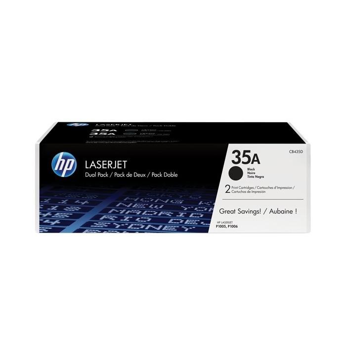 کاتریج و مواد مصرفی تونر HP 35A Black