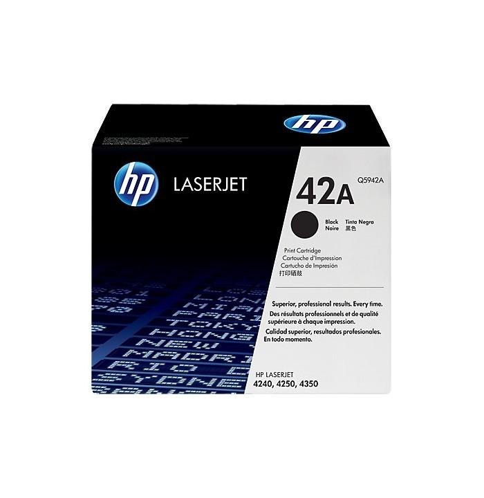 کاتریج و مواد مصرفی تونر HP 42A Black