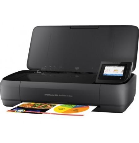 پرینتر جوهر افشان HP Officcejet 252 Mobile all in one Printer