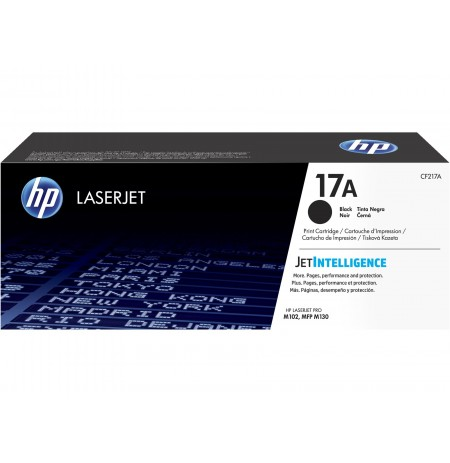 کارتریج HP 17A Black LaserJet