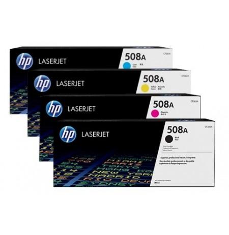 کاتریج و مواد مصرفی کارتریج لیزری HP 508A Color LaserJet Toner Cartridge