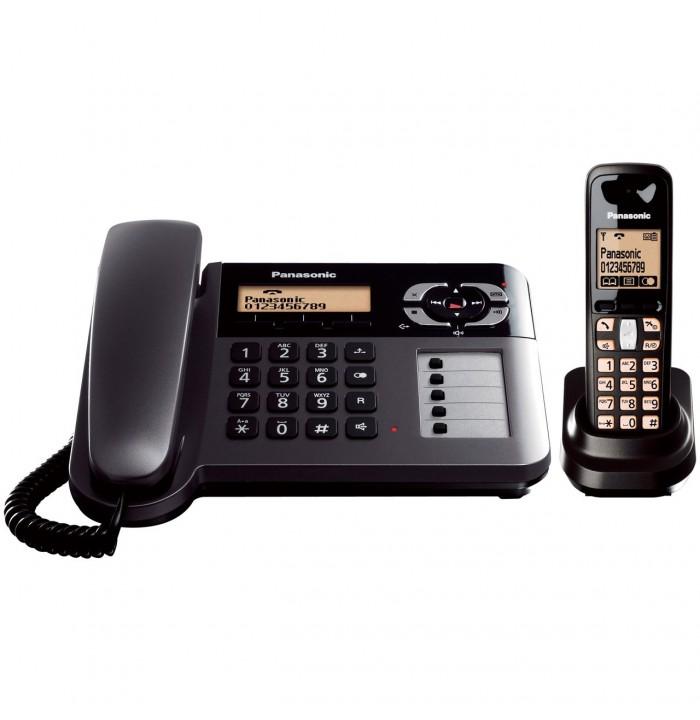 ثابت و بی سیم تلفن بی سیم Panasonic KX-TG6461