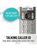 ثابت و بی سیم تلفن بی سیم Panasonic KX-TGF352