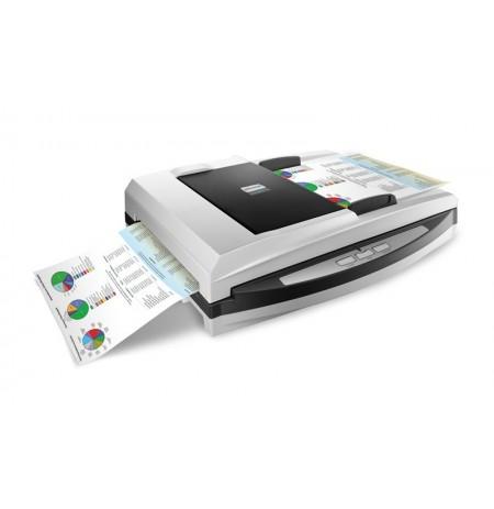 اسکنر حرفه ای اسناد و مدارک اسکنر دورو رنگی Plustek SmartOffice PL4080