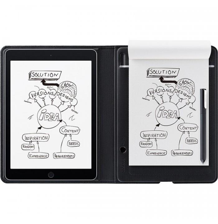 قلم نوری نوت پد دیجیتالی Wacom Bamboo Folio Smartpad-Small