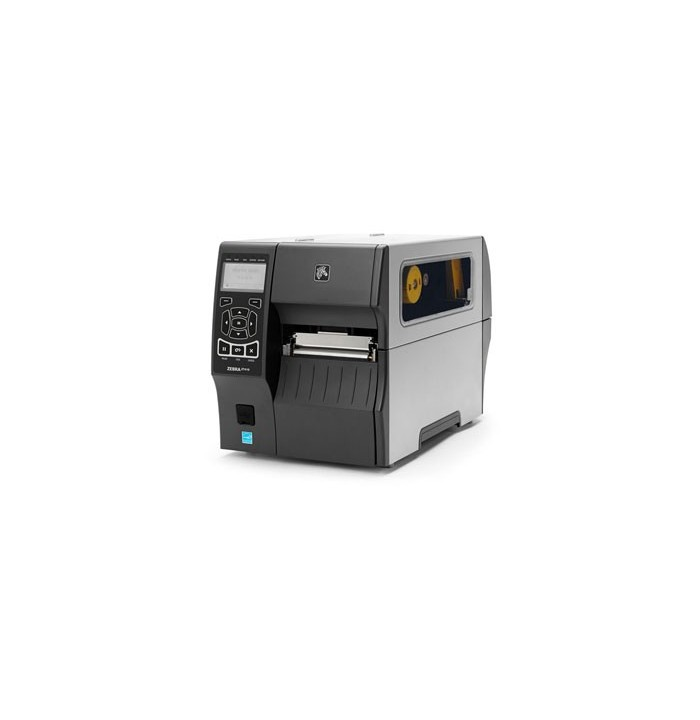 لیبل پرینتر پرینتر لیبل زن Zebra ZT410 300dpi + Rewinder